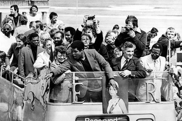 Muhammad Ali - South Shields 1977