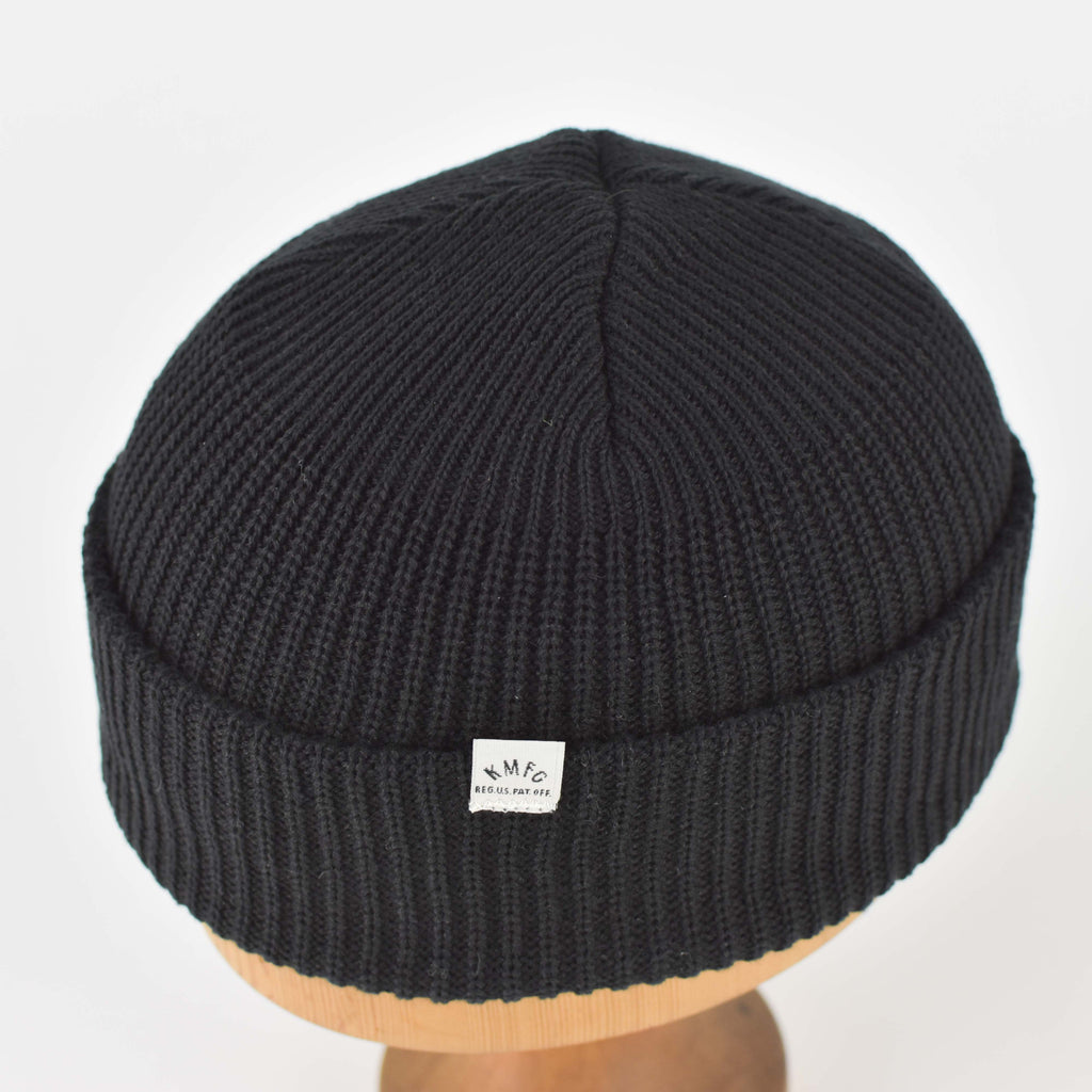 KNICKERBOCKER WATCH CAP - BLACK