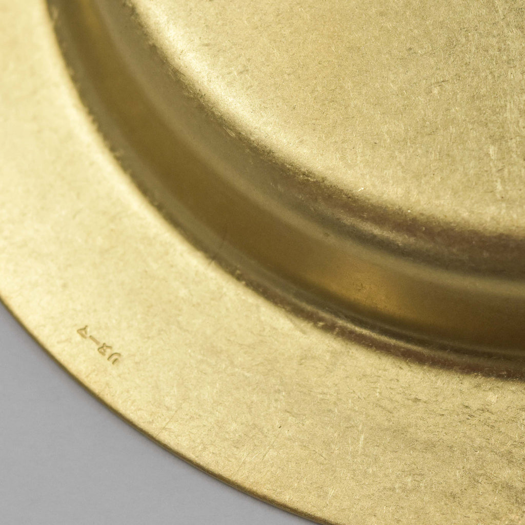 RINOUMA BRASS POCKET CHANGE DISH