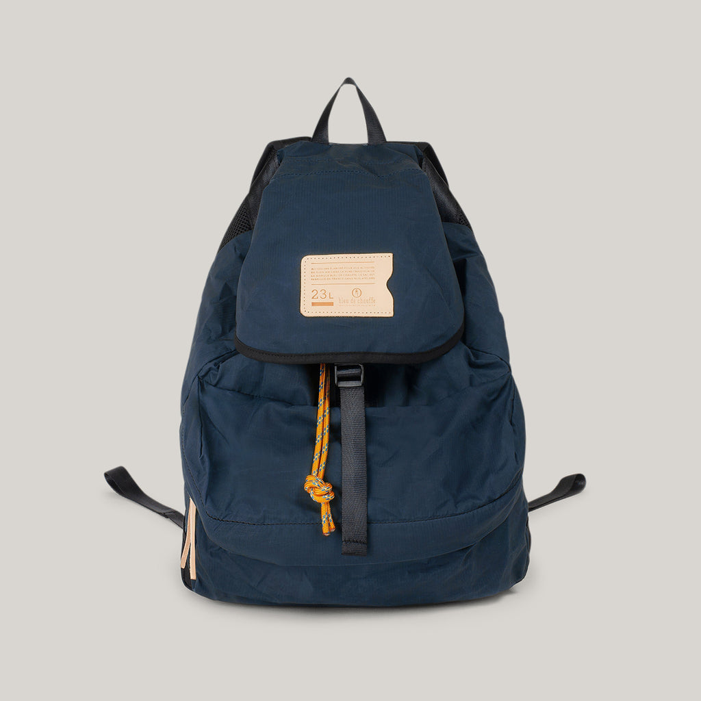 BLEU DE CHAUFFE 23L BAYOU BACKPACK - HAGUE BLUE