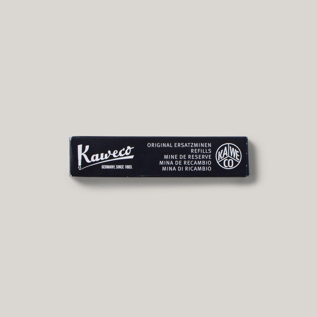 KAWECO  FOUNTAIN INK CARTRIDGE BLK 6