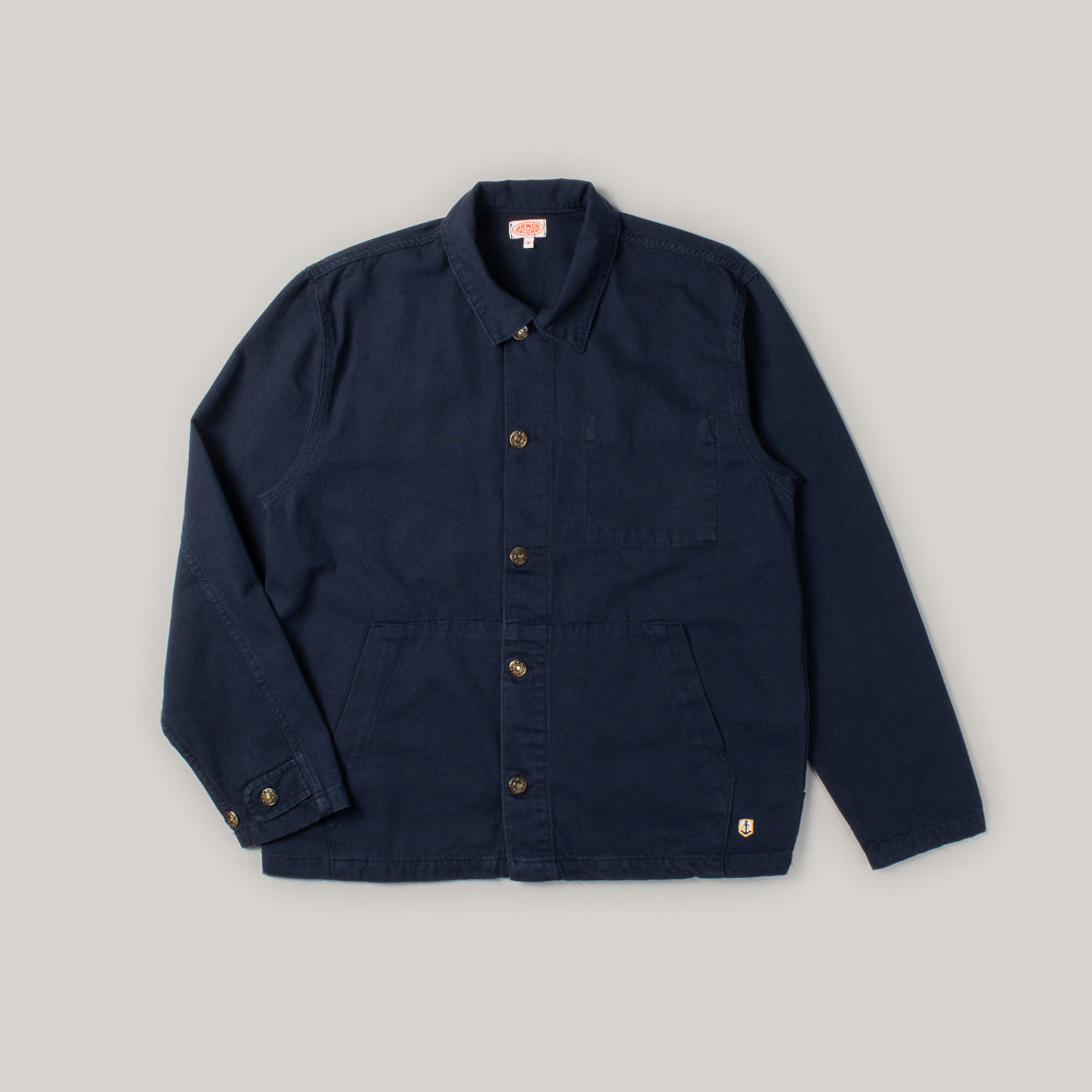 ARMOR LUX FISHERMAN JACKET HERITAGE - NAVY