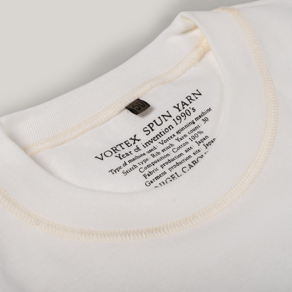 NIGEL CABOURN 3 PACK T-SHIRT - OFF WHITE