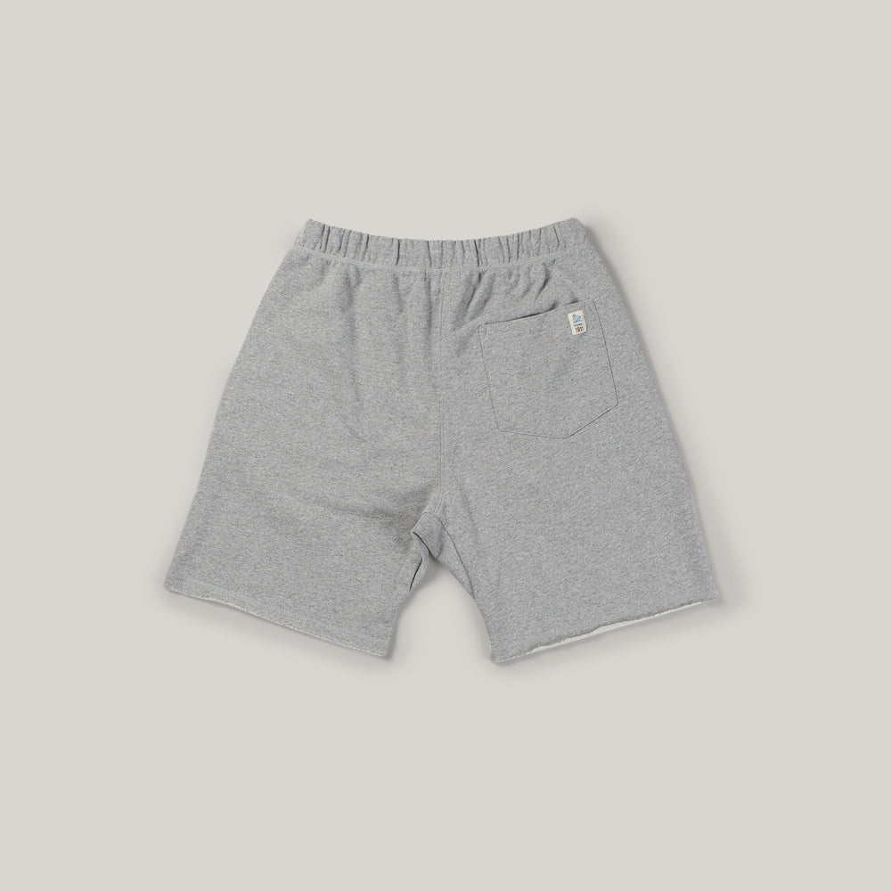 MERZ B SCHWANEN SWEAT SHORTS - GREY MELANGE