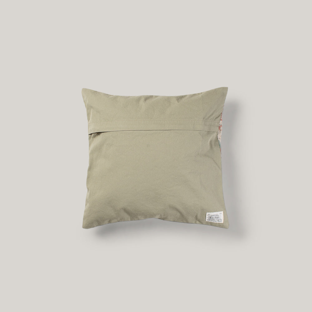 BASSHU CUSHION COVER - FLORAL
