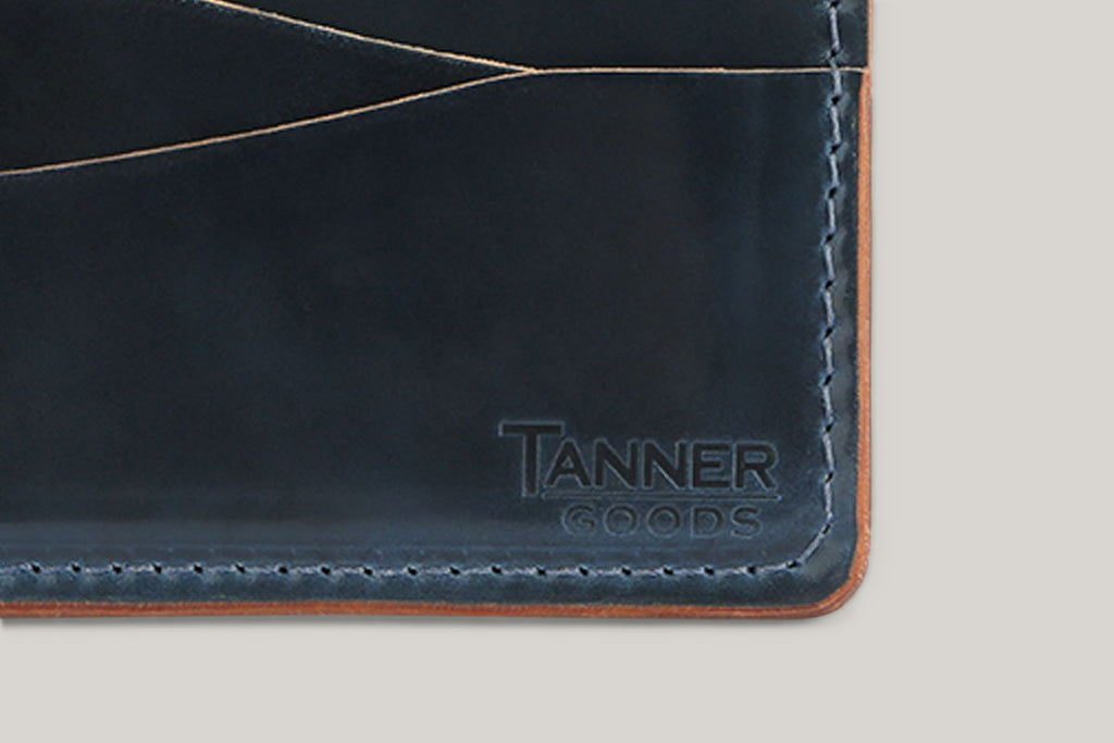 TANNER GOODS CORDOVAN JOURNEYMAN - NAVY
