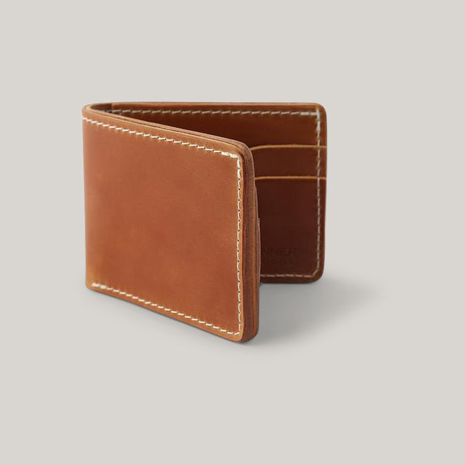 TANNER GOODS UTILITY BIFOLD - CORDOVAN NATURAL