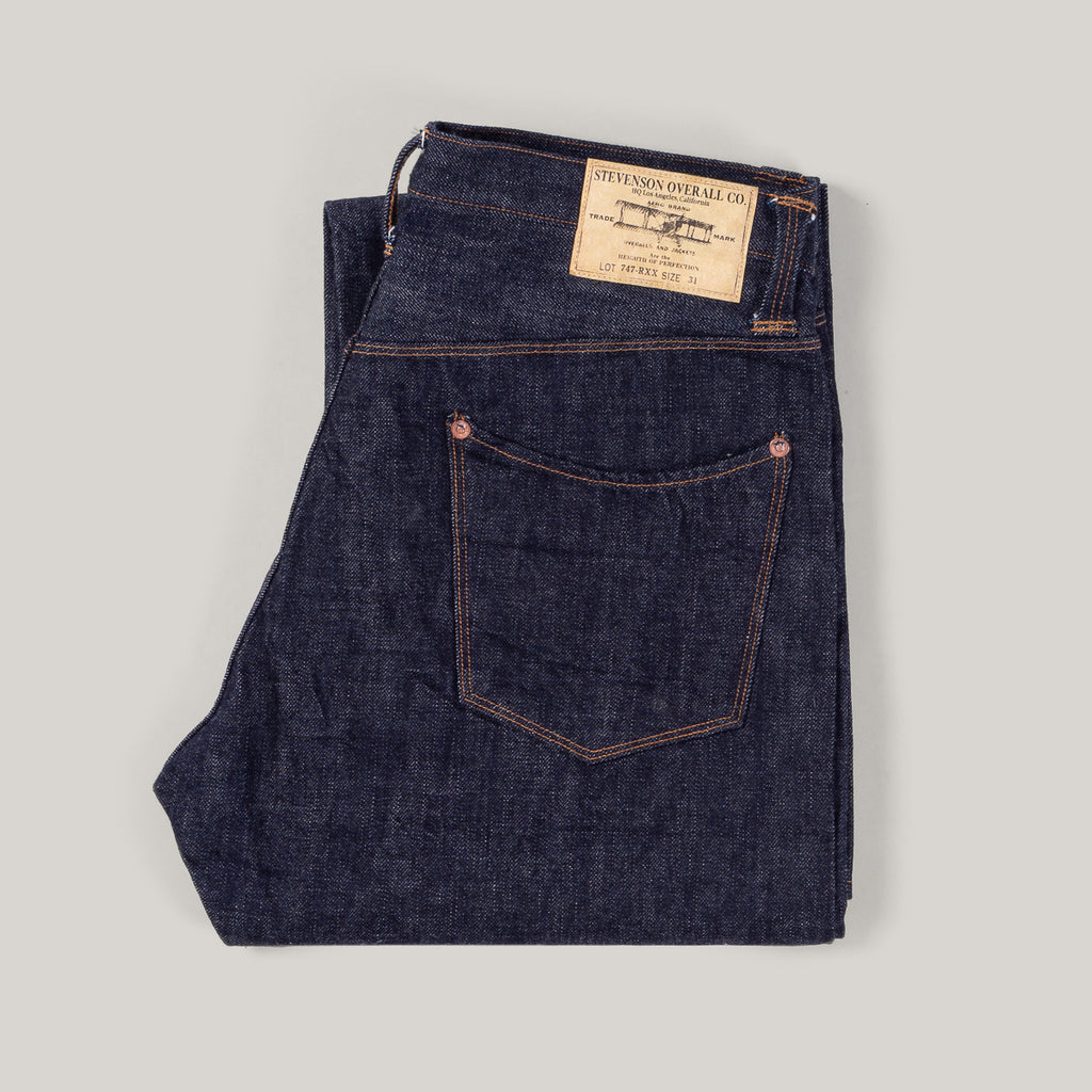 Stevenson Overall Co. 747 San Francisco Japanese Selvedge Denim Jeans