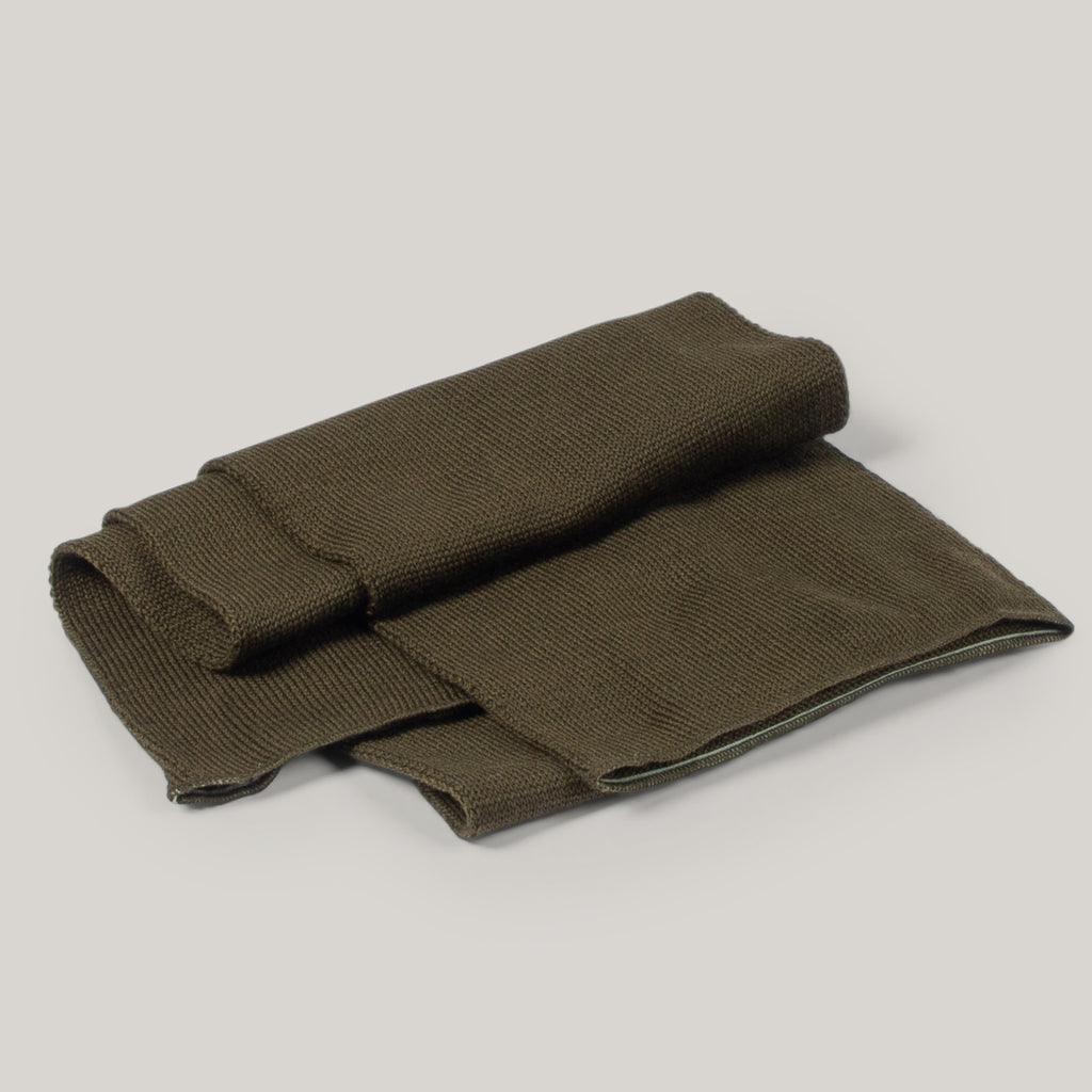 BUZZ RICKSON WOOL SCARF - OLIVE