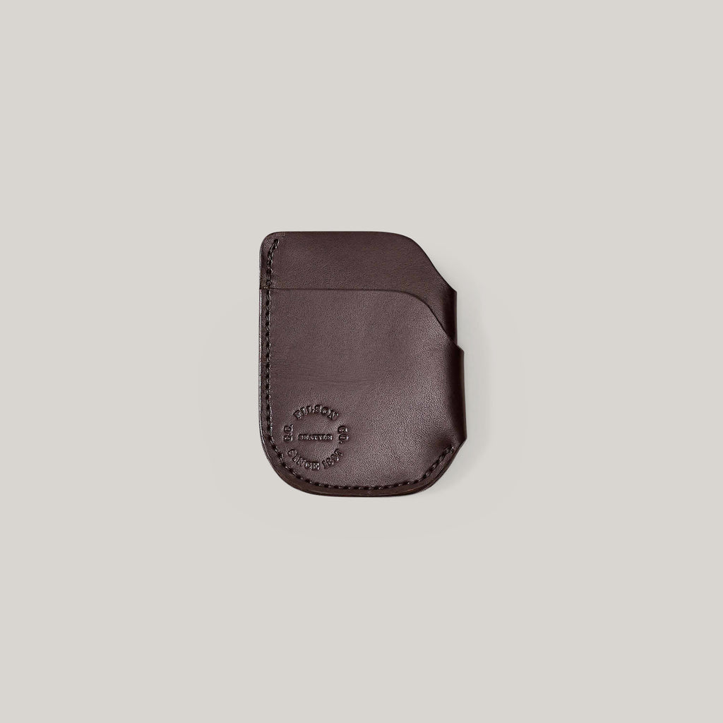 FILSON FRONT POCKET CASH & CARD CASE- BROWN