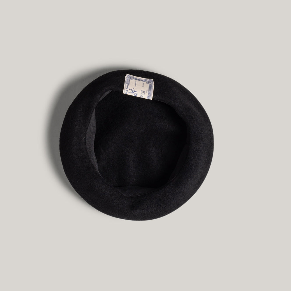 H.W. DOG & CO.  BASIC BERET - BLACK