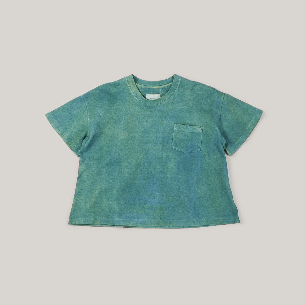 W'MENSWEAR W'MENS TEE NATURAL DYE - GREEN