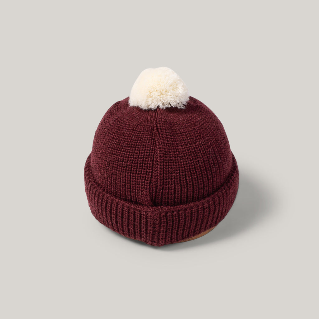 HEIMAT U-BOAT HAT - BURGUNDY / SEA SHELL