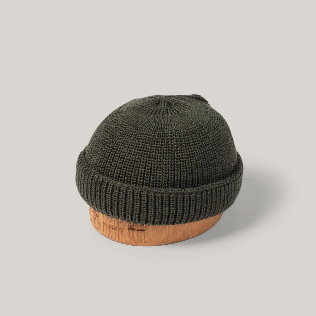 HEIMAT DECK HAT - MILITARY GREEN