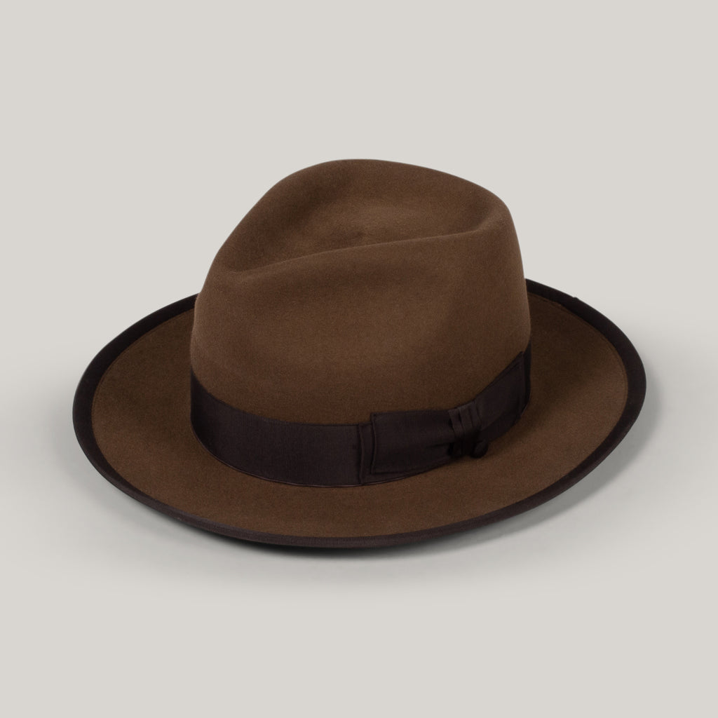 H.W. DOG & CO. POINT-H HAT - BROWN