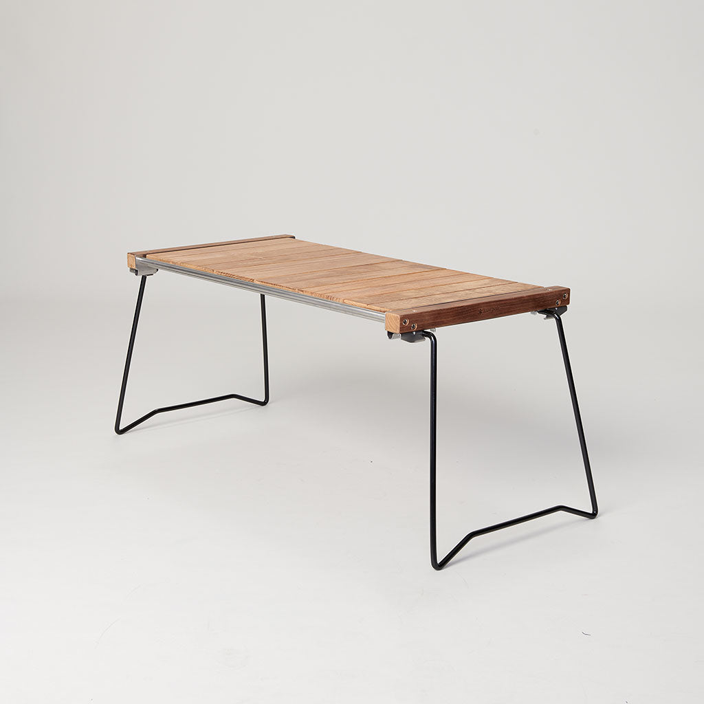 SNOW PEAK IRON GRILL TABLE SLIM