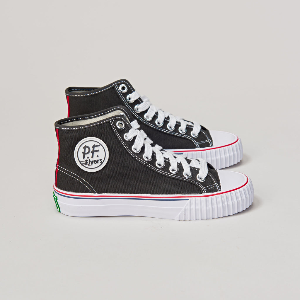 PF FLYERS CENTER Hi - BLACK/WHITE