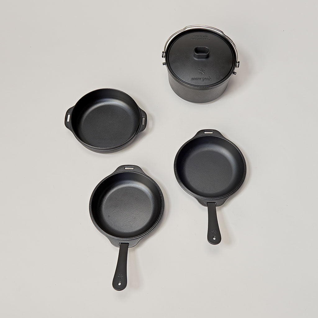 SNOW PEAK COMBO DUTCH DUO - CAST IRON