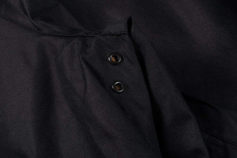BARBOUR ASHBY WAXED JACKET - NAVY