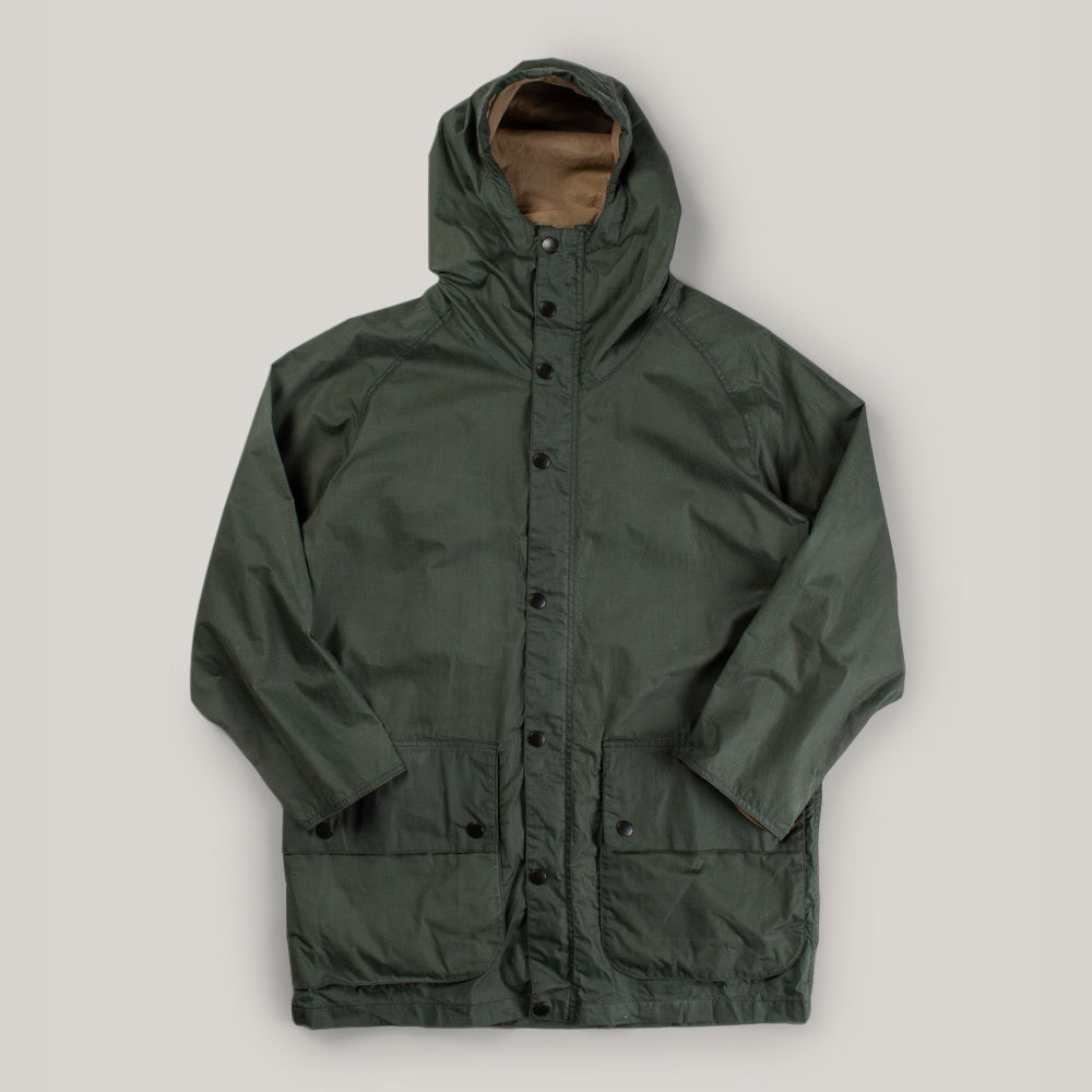 BARBOUR HIKING WAX JACKET - LT FOREST