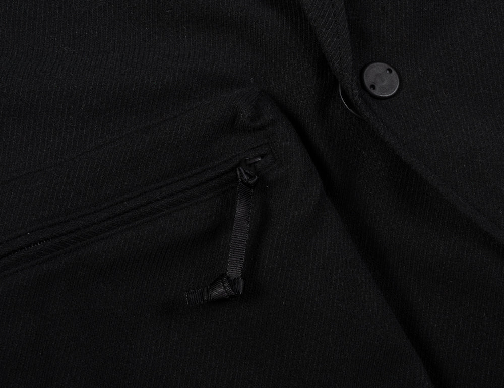 SNOW PEAK PE SERGE JACKET - BLACK