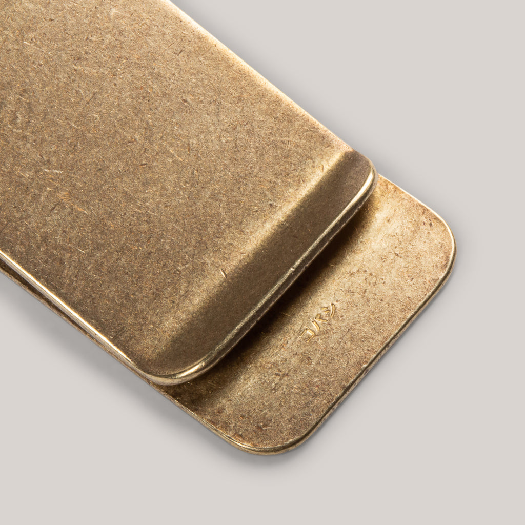 KOBASHI STUDIO BRASS MONEY CLIP