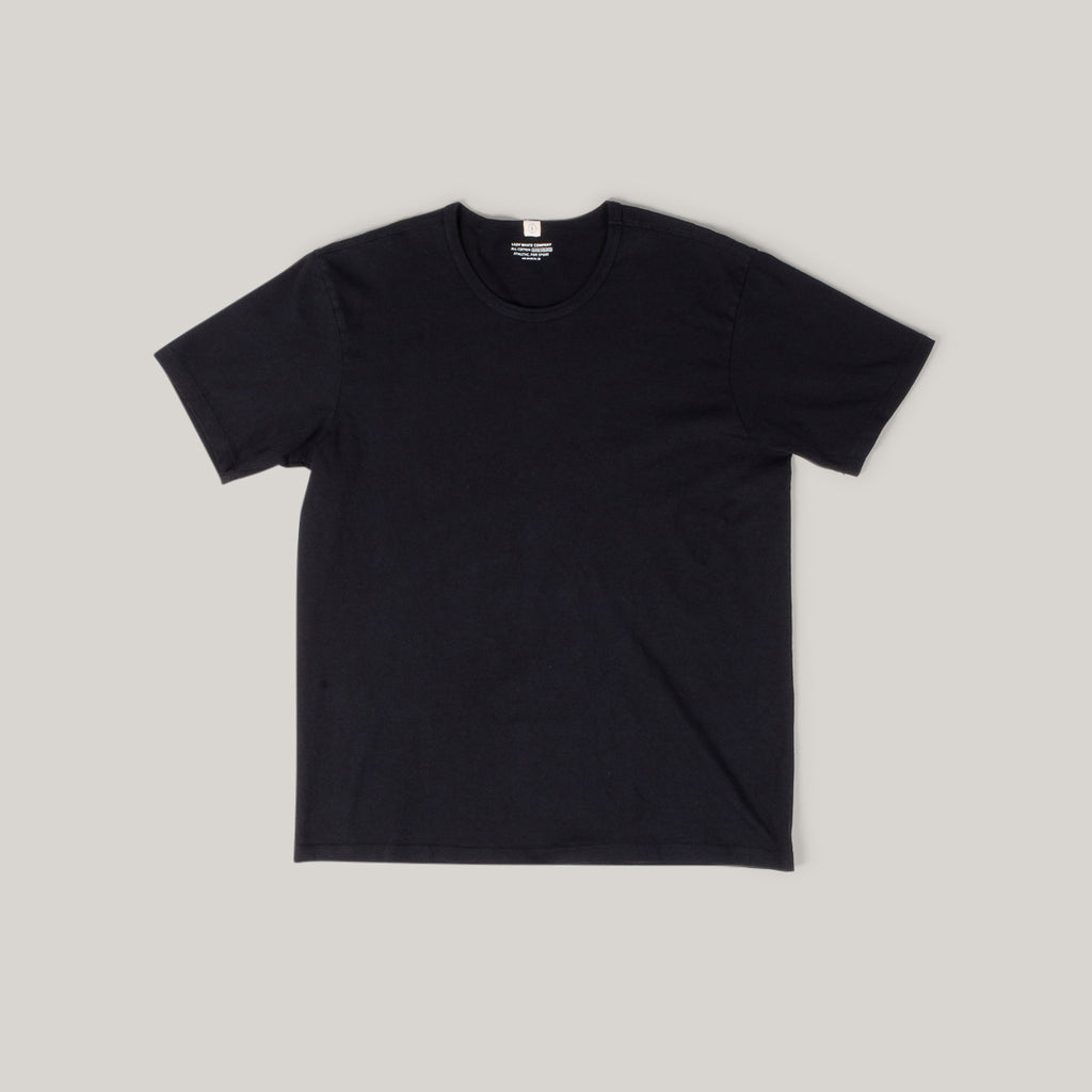 LADY WHITE CO. TEE 2 PACK - BLACK