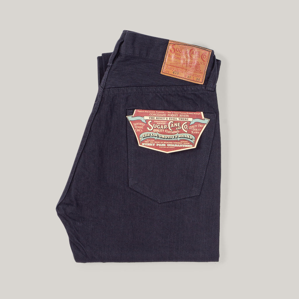 SUGAR CANE TYPEIII 1947 JEANS - SLIM FIT BLACK