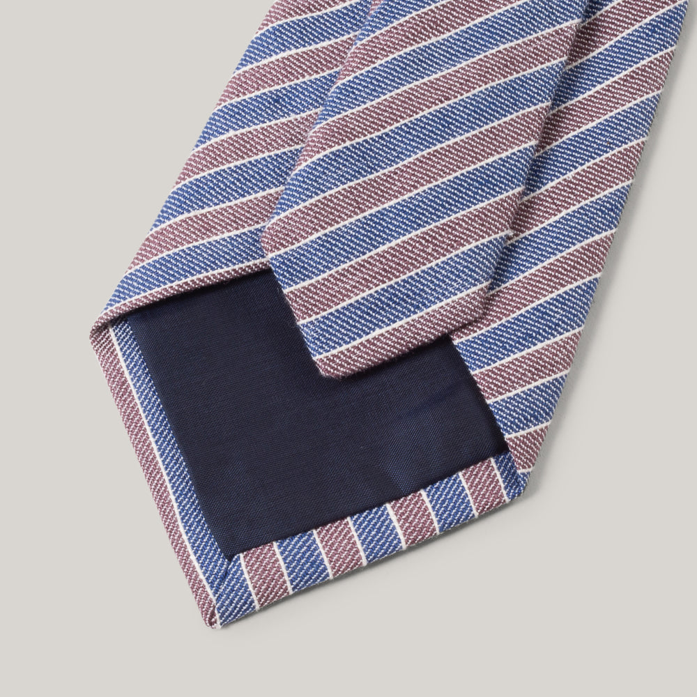 TS(S) NECK TIE COMBINATION STRIPE - BLUE
