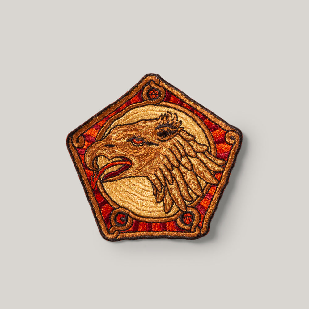 INDIGOFERA x ATLDAX GRYPHON HEAD PATCH