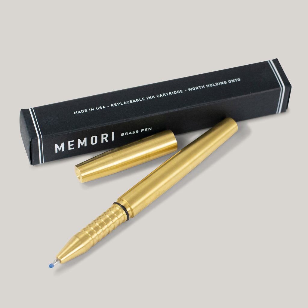 TANNER GOODS - MEMORI PEN - BRASS