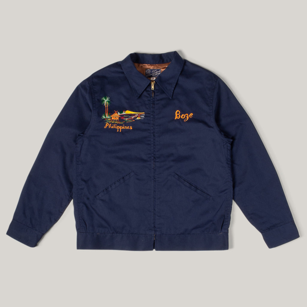 BUZZ RICKSON EMBROIDERED SOUVENIR JACKET