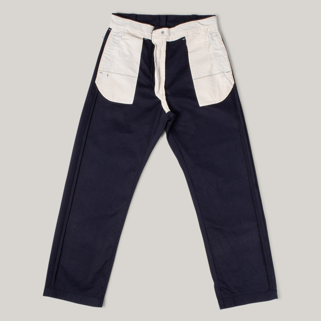 SUGAR CANE 8.5OZ MOUNTAIN CLOTH PANTS - NAVY