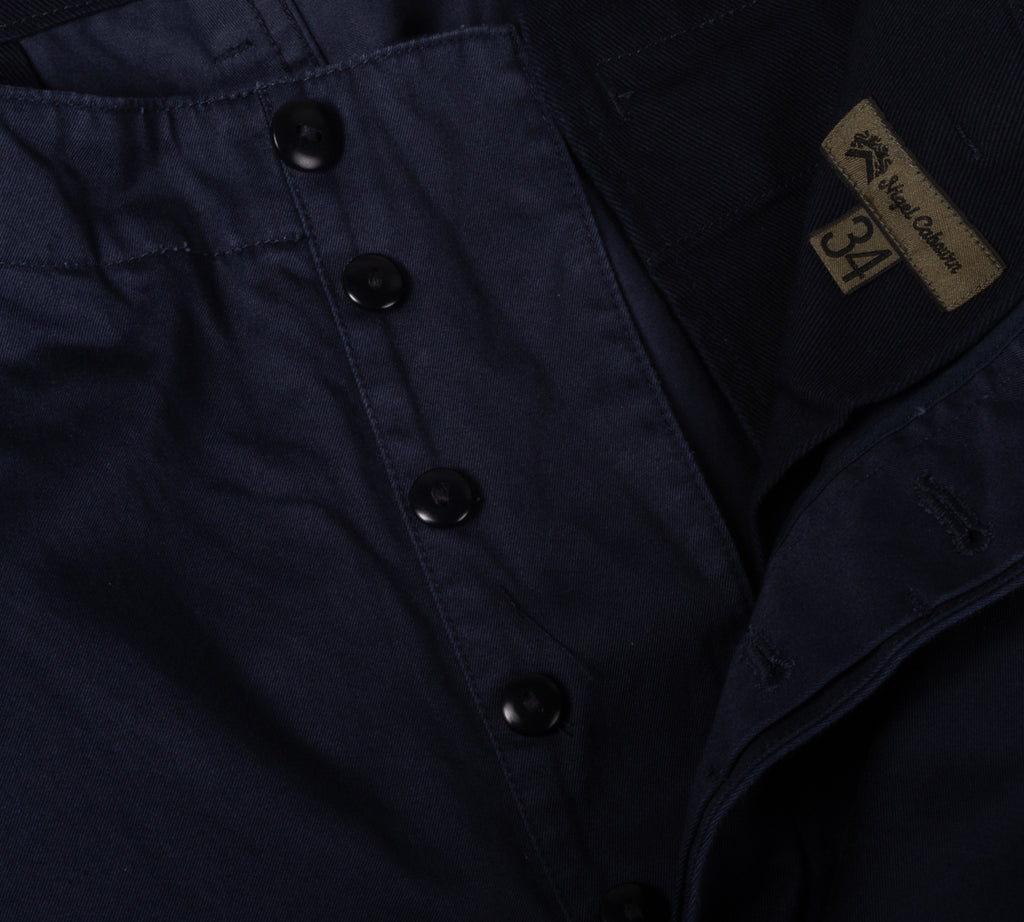 NIGEL CABOURN BASIC CHINO - NAVY