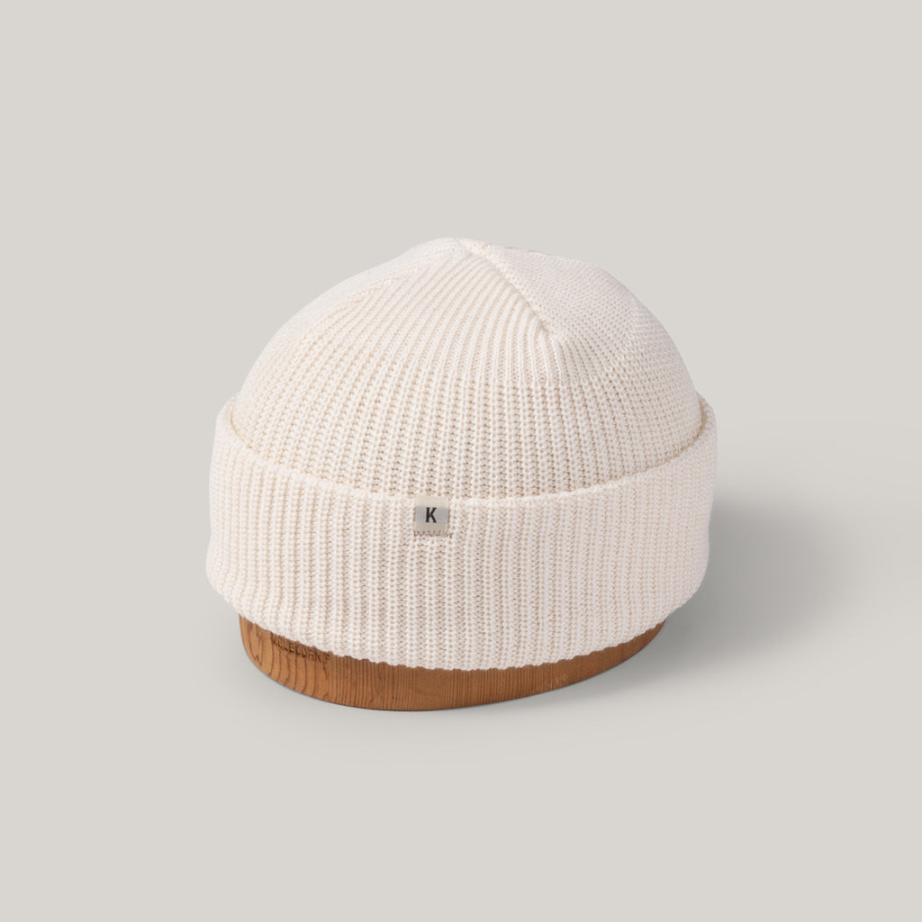 KNICKERBOCKER WATCH CAP - NATURAL