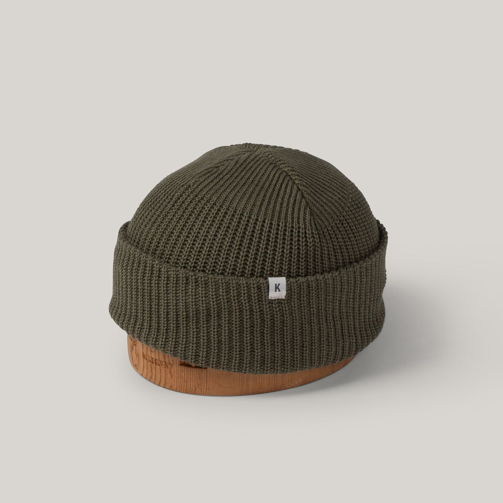 KNICKERBOCKER WATCH CAP - OLIVE