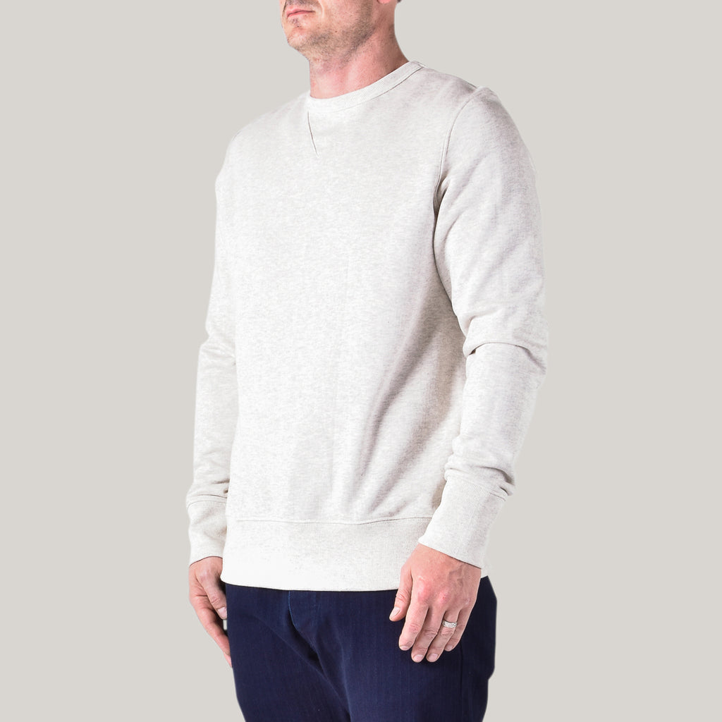 MERZ B SCHWANEN SWEAT SHIRT 346 - NATURE MELANGE