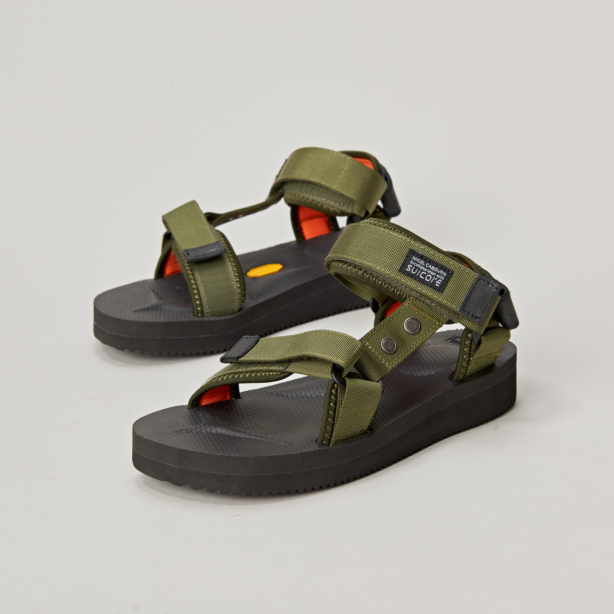 036447f6d160 SUICOKE x NIGEL CABOURN SANDALS - NAM GREEN – Pickings and Parry