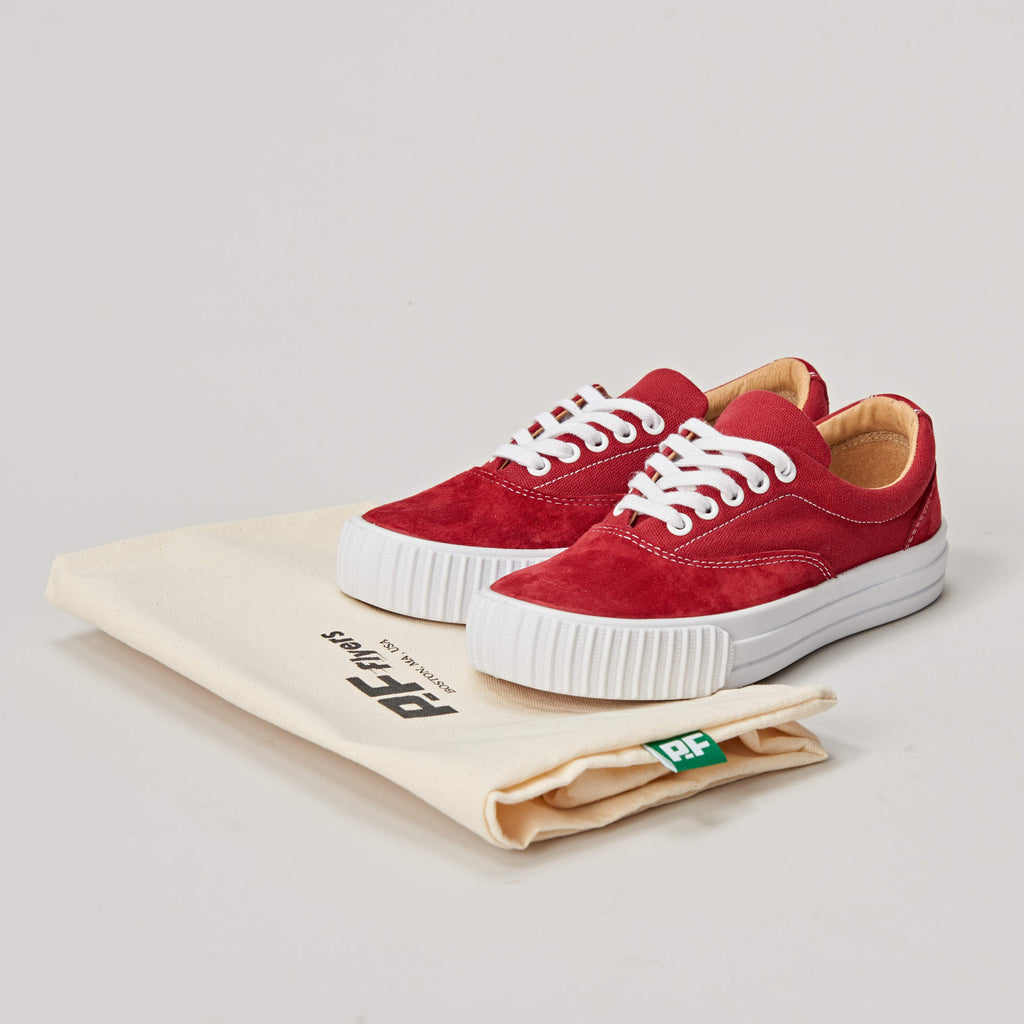 PF FLYERS WINDJAMMER - MADE IN USA - RED