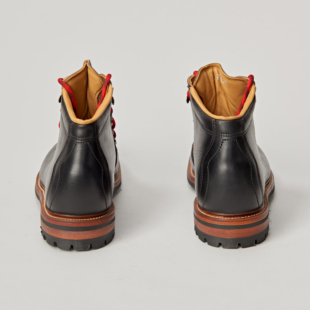 OAK ST BOOTMAKERS SUMMIT BOOT - BLACK