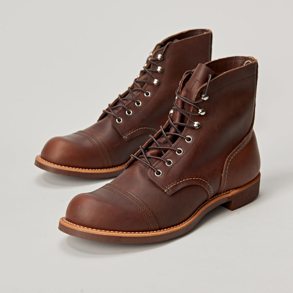 RED WING IRON RANGER 8111 - AMBER HARNESS