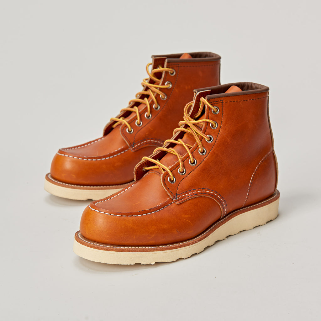 RED WING 875 CLASSIC MOC TOE BOOT