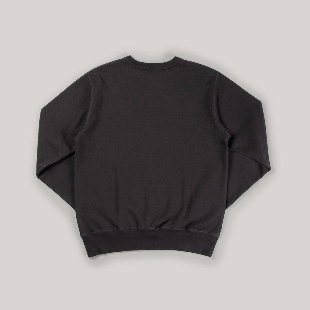 BUZZ RICKSON TRAINERS SWEAT - BLACK