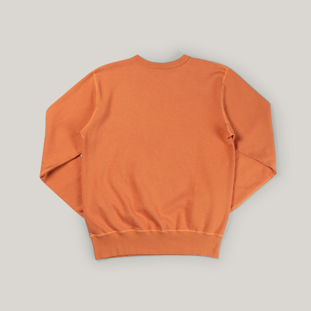 BUZZ RICKSON TRAINERS SWEAT  - ORANGE
