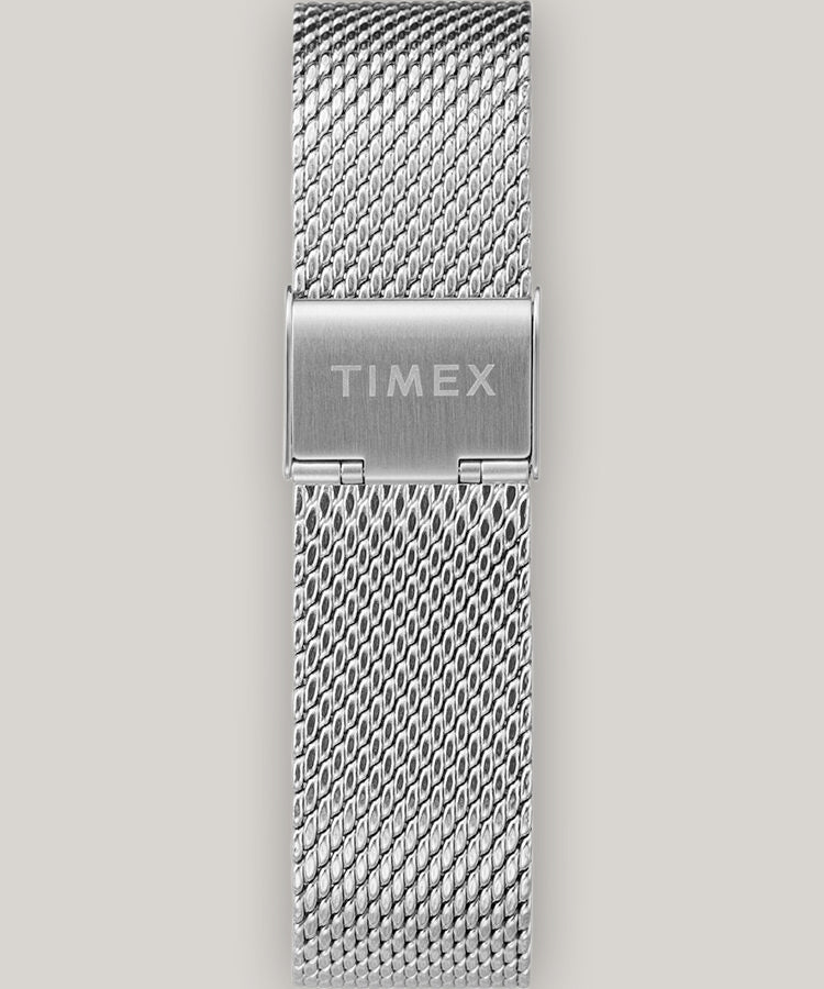 TIMEX MARLIN AUTOMATIC 40MM - STAINLESS STEEL MESH  BAND WATCH