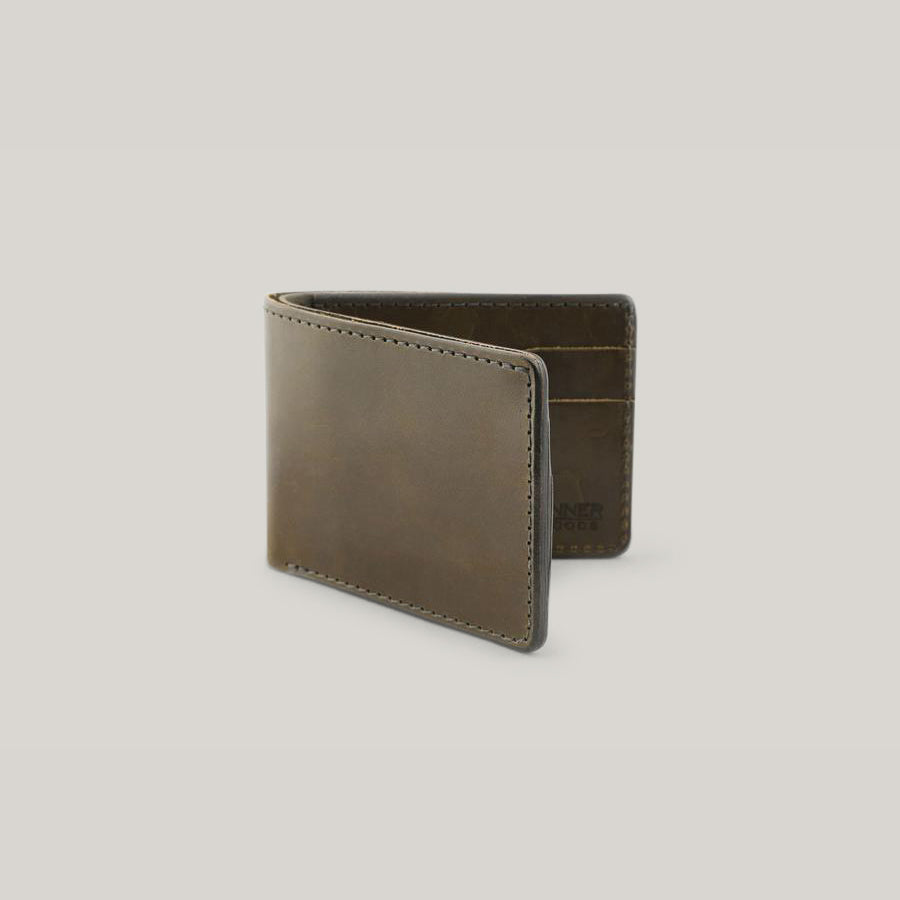 TANNER GOODS UTILITY BIFOLD WALLET - OLIVE FOLIAGE