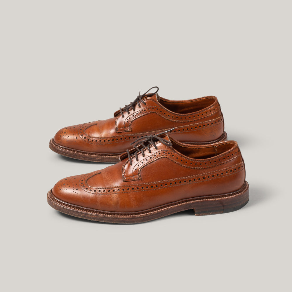 USED ALDEN LONG WING BLUCHER - TAN