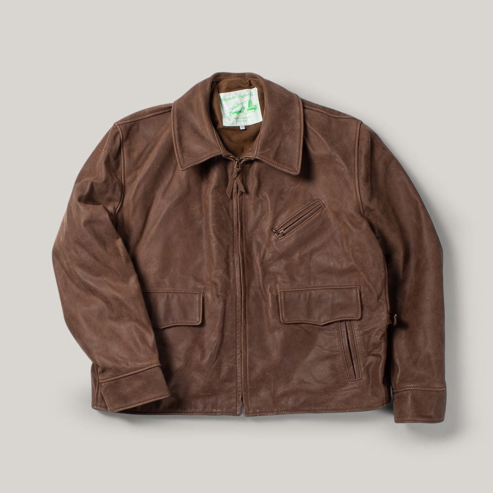 USED SIMMONS BILT DRIFTER LEATHER JACKET