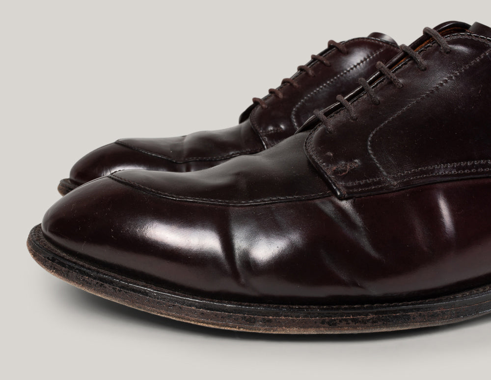 USED ALDEN ANATOMICA ALGONQUIN SHOES - SHELL CORDOVAN