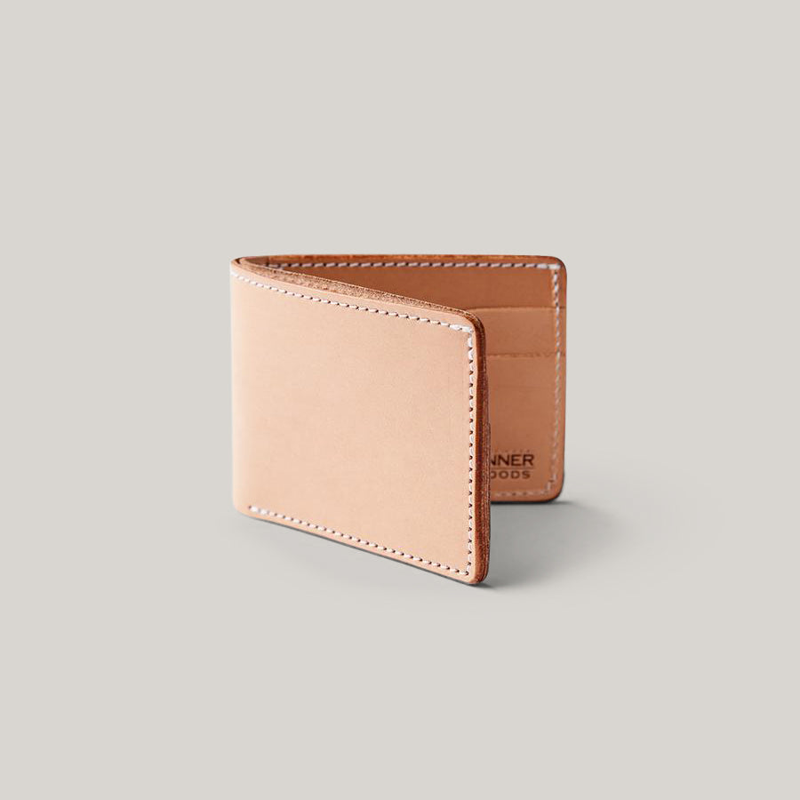 TANNER GOODS UTILITY BIFOLD WALLET - NATURAL